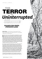 The Terror of Uninterrupted Silence: <i>Sulanga Enu Pinisa</i> (<i>Forsaken Land</i>)