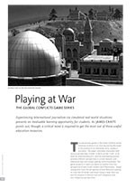 Playing at War: The <i>Global Conflicts</i> Game Series