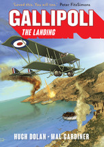 Gallipoli: The Landing (colour)