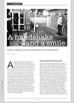 A Handshake and a Smile: Video-making, Young People and Mental Health