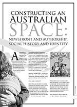 Constructing an Australian Space: <i>Newsfront</i> and Authorship, Social History and Identity