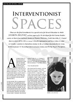 Interventionist Spaces