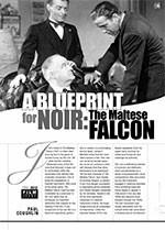 A Blueprint for Noir: <i>The Maltese Falcon</i>