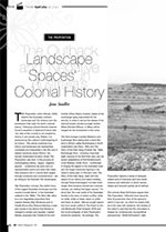 <i>The Proposition</i>: The Outback Landscape and ?egative Spaces?in Australia? Colonial History