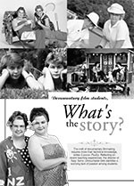 Documentary Film Students, What? the Story?