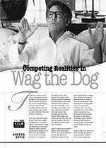 Competing Realities in <i>Wag the Dog</i>