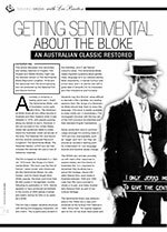 Getting Sentimental about the Bloke: An Australian Classic Restored