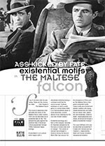 Ass-kicked by Fate: Existential Motifs in <i>The Maltese Falcon</i>