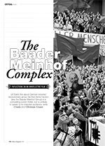 <i>The Baader Meinhof Complex</i>: Reflections on an Unreflective Film