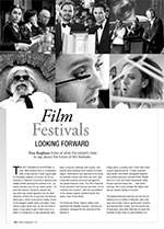 Film Festivals: Looking Forward