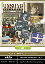 Unsung Heroes of Australian History: Secondary (Part 1)