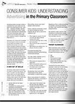 Consumer Kids: Understanding Advertising in the Primary Classroom