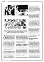 <i>It Droppeth as the Gentle Rain</i>: The Birth of Australian Experimental Film