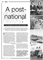 A Post-apology National History: <i>First Australians: The Untold Story of Australia</i>