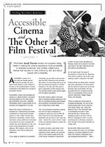 Finding An(other) Audience: Accessible Cinema and The Other Film Festival