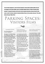 Parking Spaces: Visitors Films