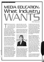 Media Education: What Industry Wants