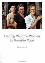 Finding Wartime Women in <em>Paradise Road</em>