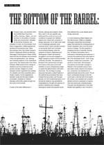 The Bottom of the Barrel: <i>A Crude Awakening</i>