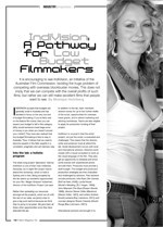 IndiVision: A Pathway for Low Budget Filmmakers