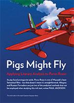 Pigs Might Fly: Applying Literary Analysis to <em>Porco Rosso</em>
