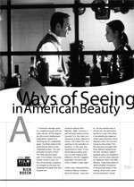 Ways of Seeing in <i>American Beauty</i>