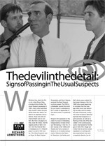 The Devil in the Detail: Signs of Passing in <i>The Usual Suspects</i>