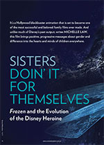 Sisters Doin' It for Themselves: <em>Frozen</em> and the Evolution of the Disney Heroine
