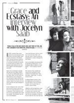 Grace and Ecstasy: An Interview with Jocelyn Saab