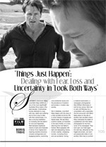 'Things Just Happen': Dealing with Fear, Loss and Uncertainty in Look Both Ways