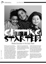Getting Started! Media Education in the Early Years