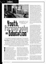 Saying You've Been at Dad's Porn Book is Part of Growing Up': Youth, Pornography and Education