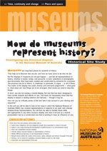 Site study ?How do museums represent controversial history?