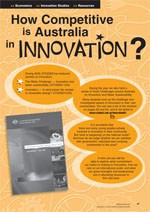 Innovation and Research ?Is Australia keeping up with the world?