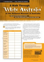 Taking a walk through the White Australia Policy at the National Museum of Australia