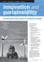 Innovation and renewable energy