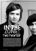 In the Zone: 'Two Twisted'