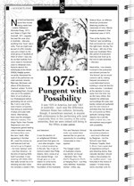 1975: Pungent With Possibility