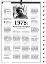 1975: Rubicon or Styx?