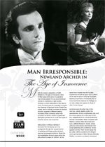 Man Irresponsible: Newland Archer in <i>The Age of Innocence</i>