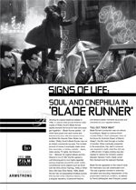 Signs of Life: Soul and Cinephilia in <i>Blade Runner</i>