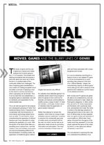 Official Sites: Movies, Games and the Blurry Lines of Genre