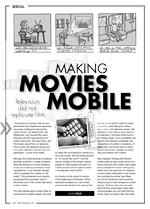 Making Movies Mobile