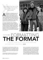 Formatting the Format