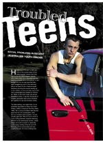 Troubled Teens: Social Problems in Recent Australian Youth Cinema