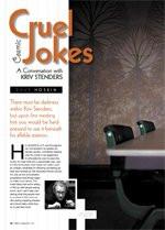 Cosmic Cruel Jokes: A Conversation With Kriv Stenders