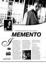 Somewhere in the Night: Memento