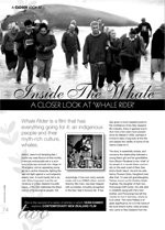 Inside the Whale: A Closer Look at Whale Rider