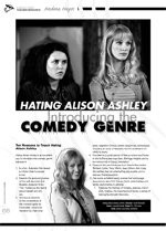 Hating Alison Ashley: Introducing the Comedy Genre