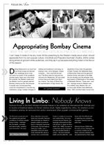 Living in Limbo: Nobody Knows, Appropriating Bombay Cinema: Why the Western World Gets Bollywood so Wrong?